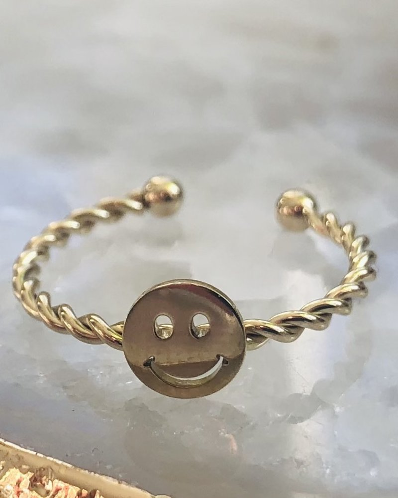 Ring - Smiley Face