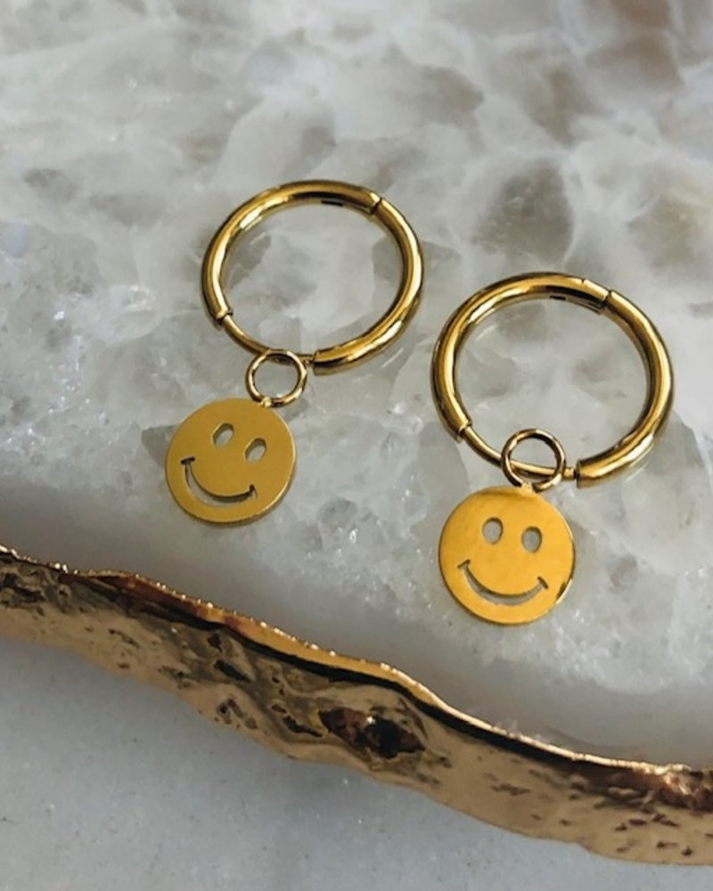 Oorbellen - Smiley Face