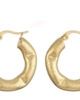 Earrings - Matte Hoops