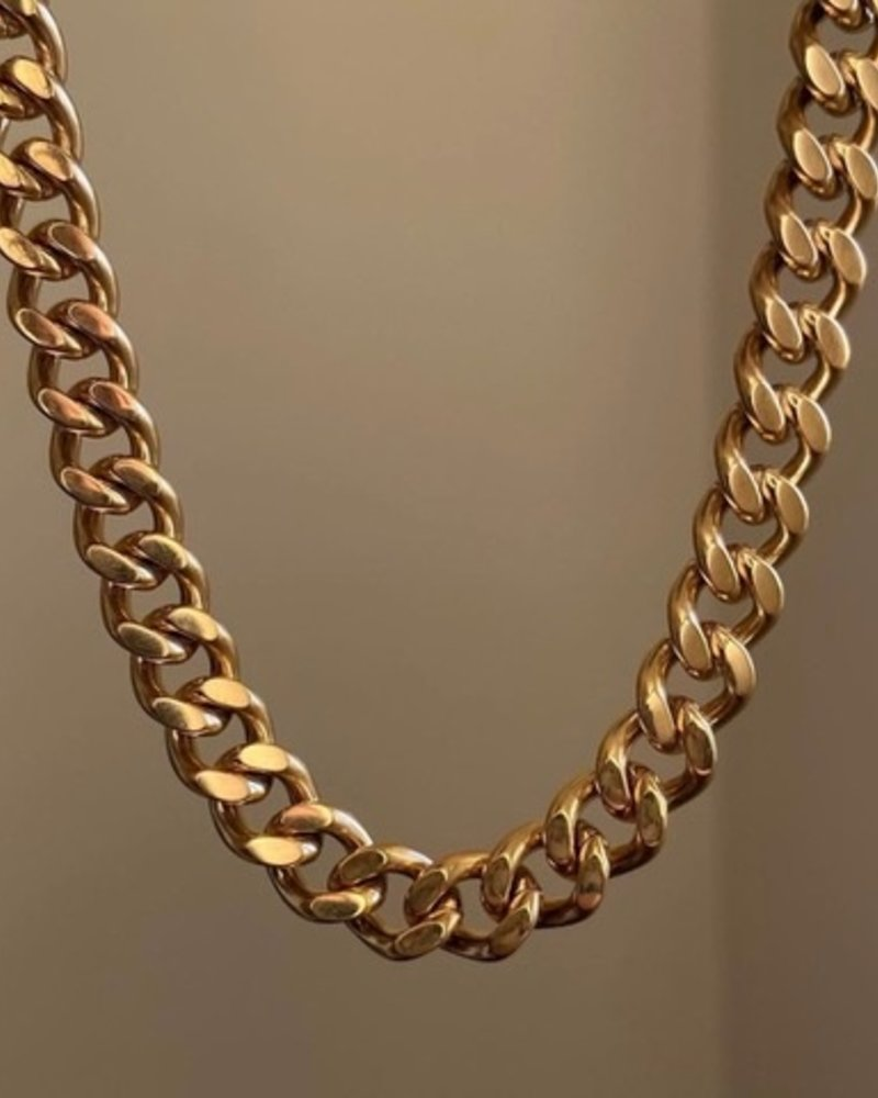 Necklace - Thick Link Chain