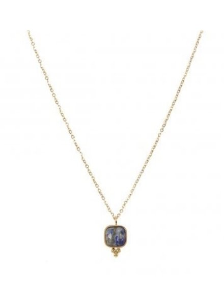 Necklace - Reeva Dark Blue