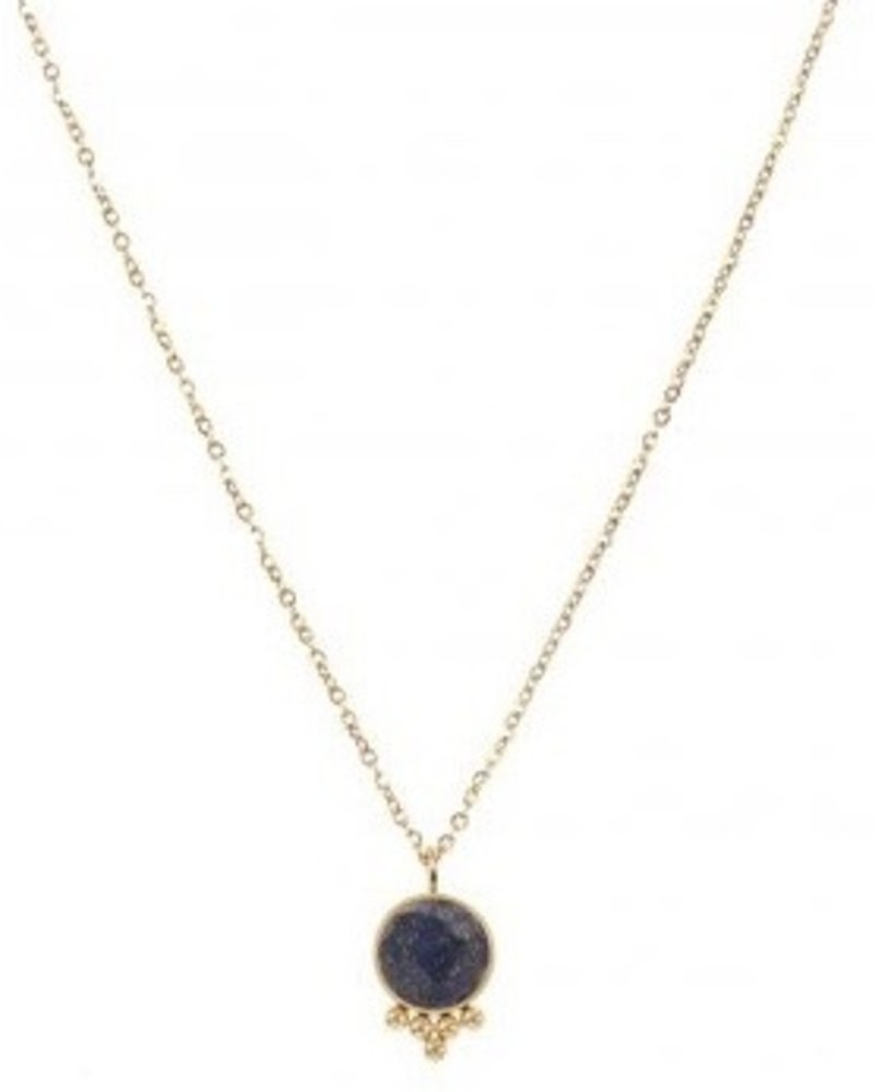 Necklace - Jayla Dark Blue