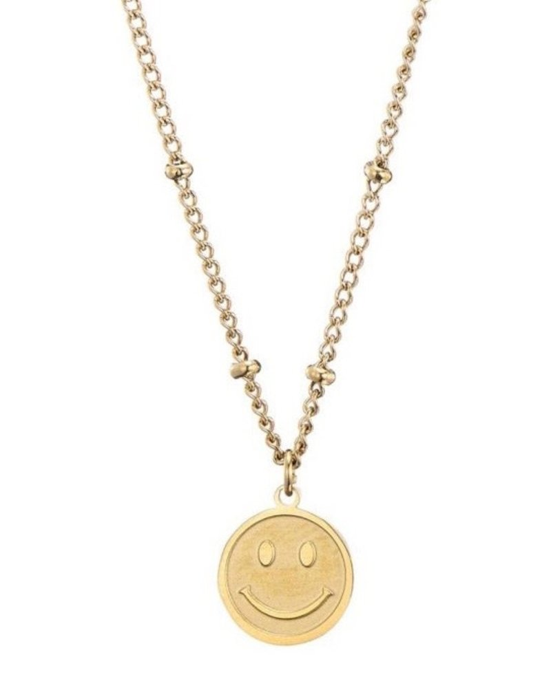 Necklace - Smiley Face