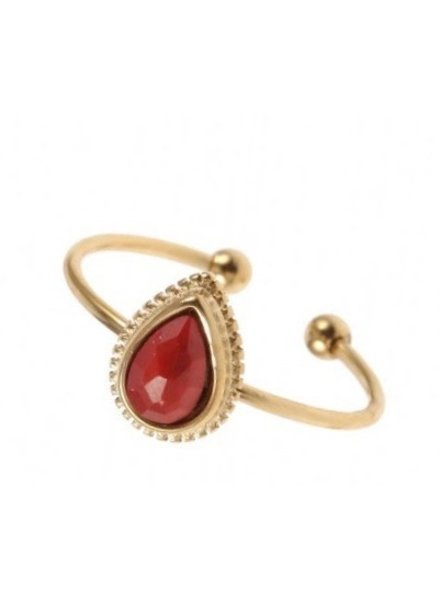 Ring - Khloe Red