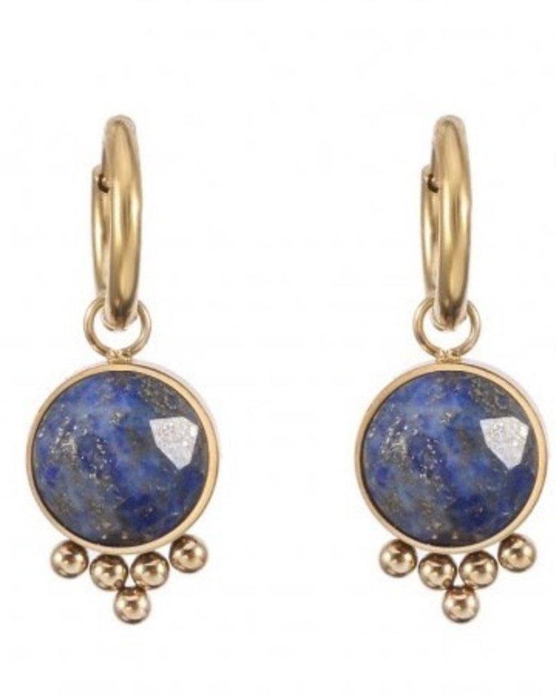 Earrings - Jayla Dark Blue