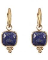 Earrings - Reeva Dark Blue