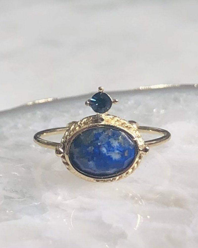 Ring - Amelie Dark Blue