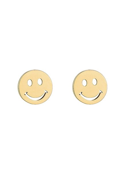 Earrings - Smiley Face Studs