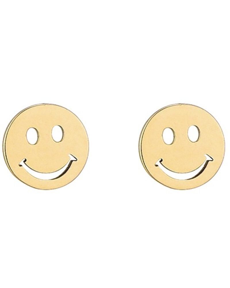Oorbellen - Smiley Face Studs