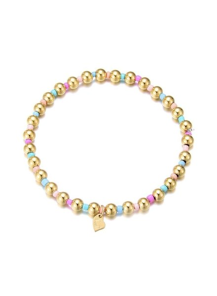 Armband - Aiva Pink and Blue