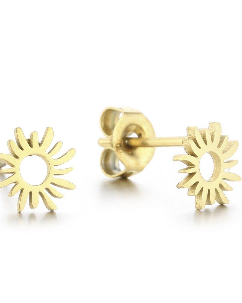 Earrings - Sun Studs