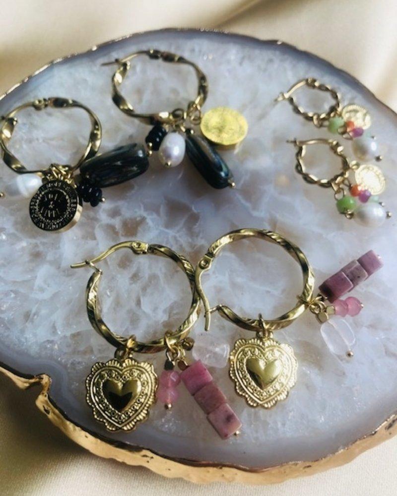 Earrings - Amour