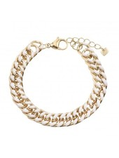 Armband - Thick Link White