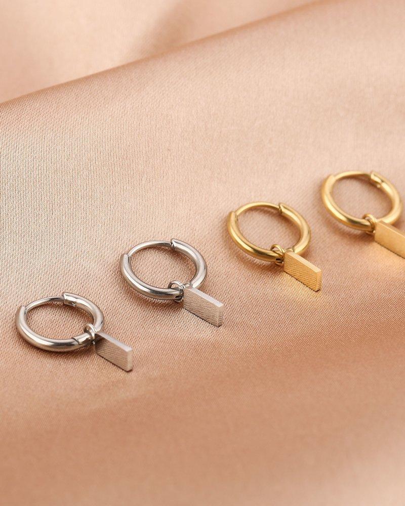 Earrings - Bar