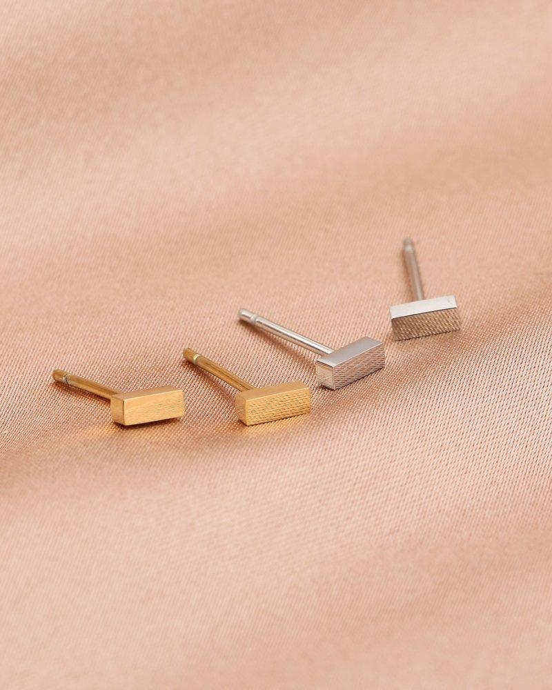 Earrings - Bar Studs