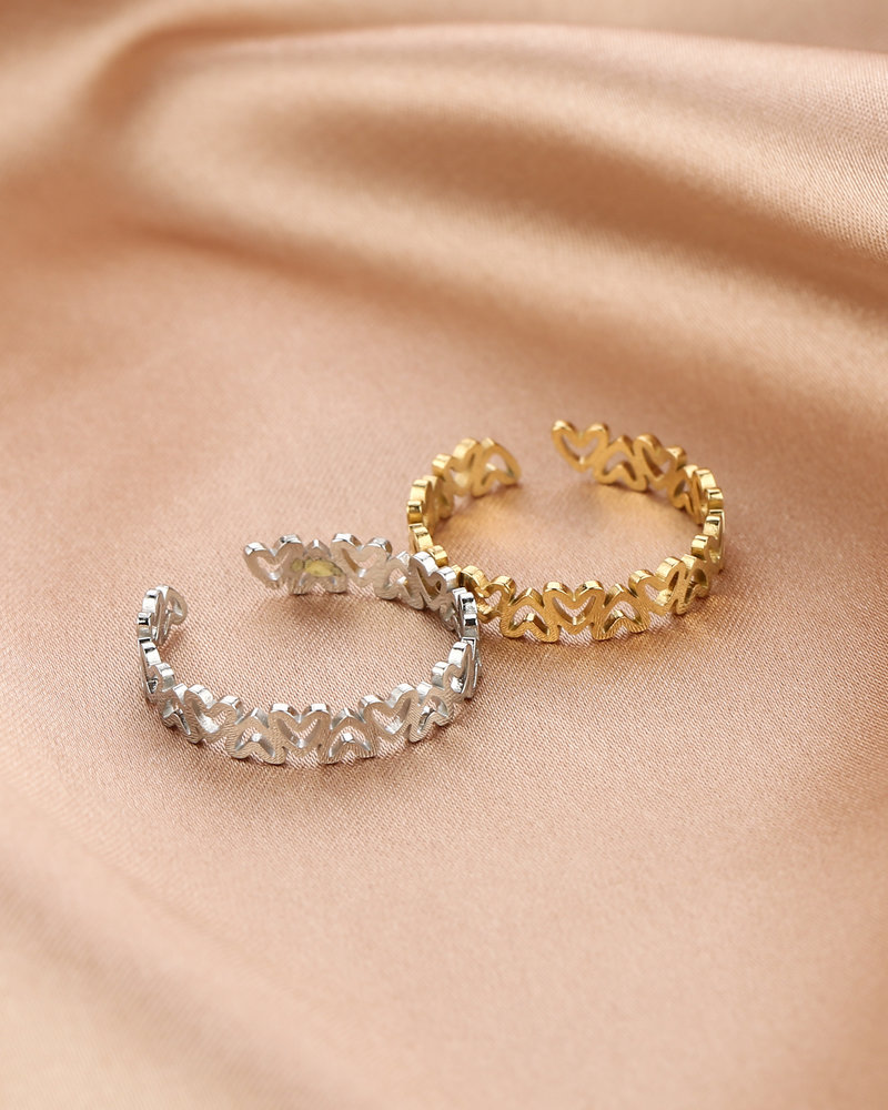 Ring - Small Hearts