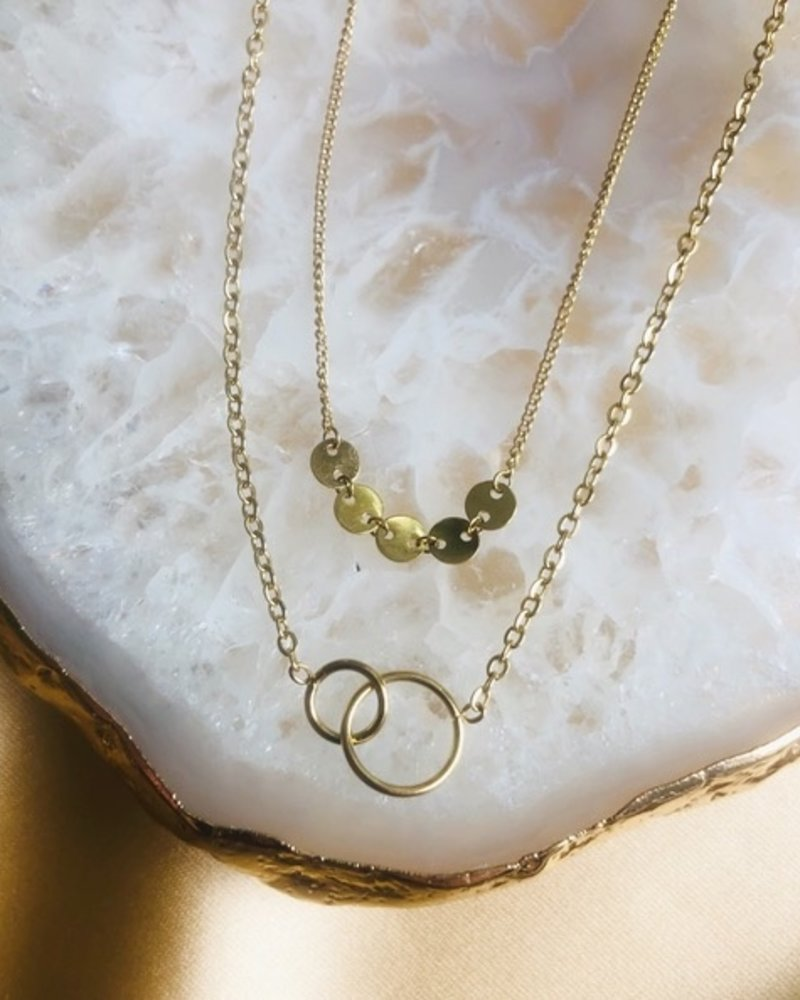 Necklace - Double Round