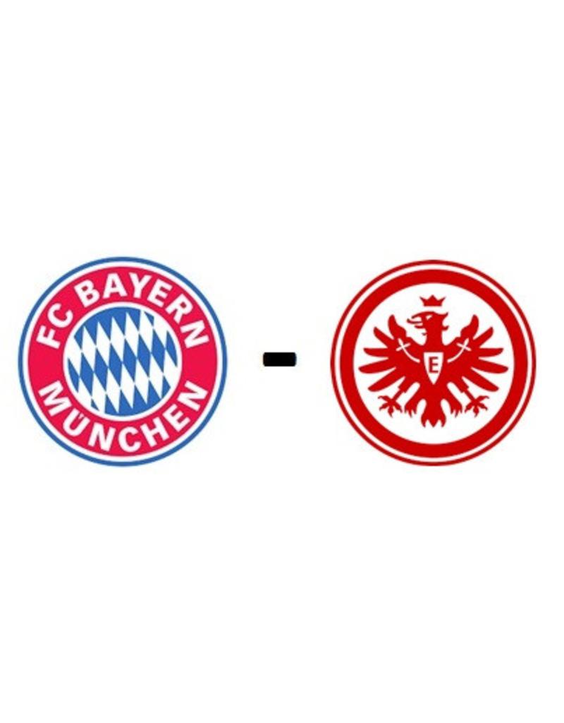 Bayern Munchen - Eintracht Frankfurt 2 oktober 2021