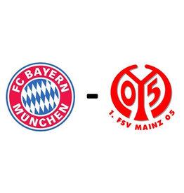 Bayern Munchen - 1. FSV Mainz