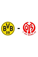 Borussia Dortmund - 1. FSV Mainz 16 oktober 2021