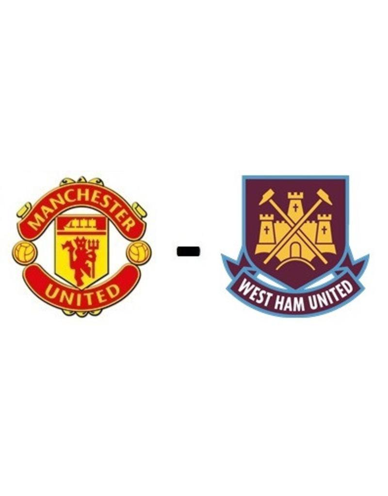 Manchester United - West Ham United 22 januari 2022