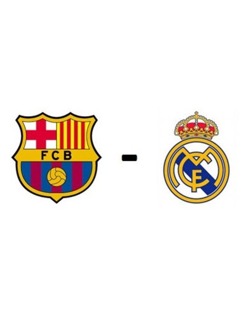 FC Barcelona - Real Madrid 24 oktober 2021