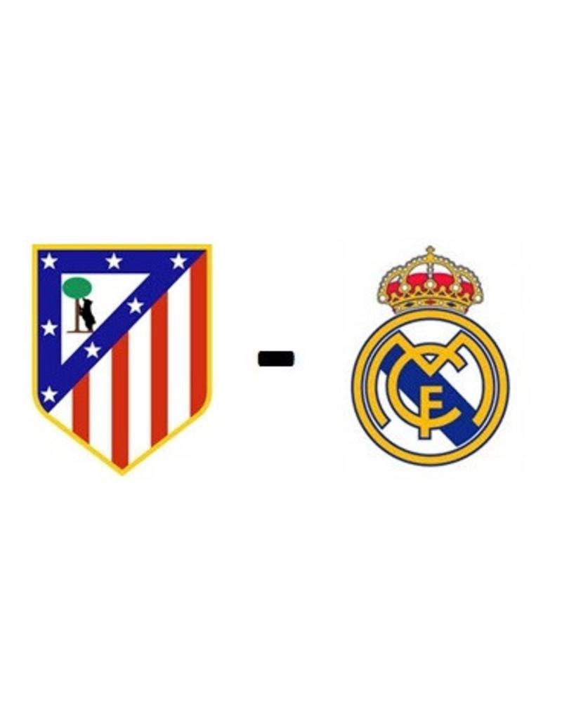 Atletico Madrid - Real Madrid 8 mei 2022