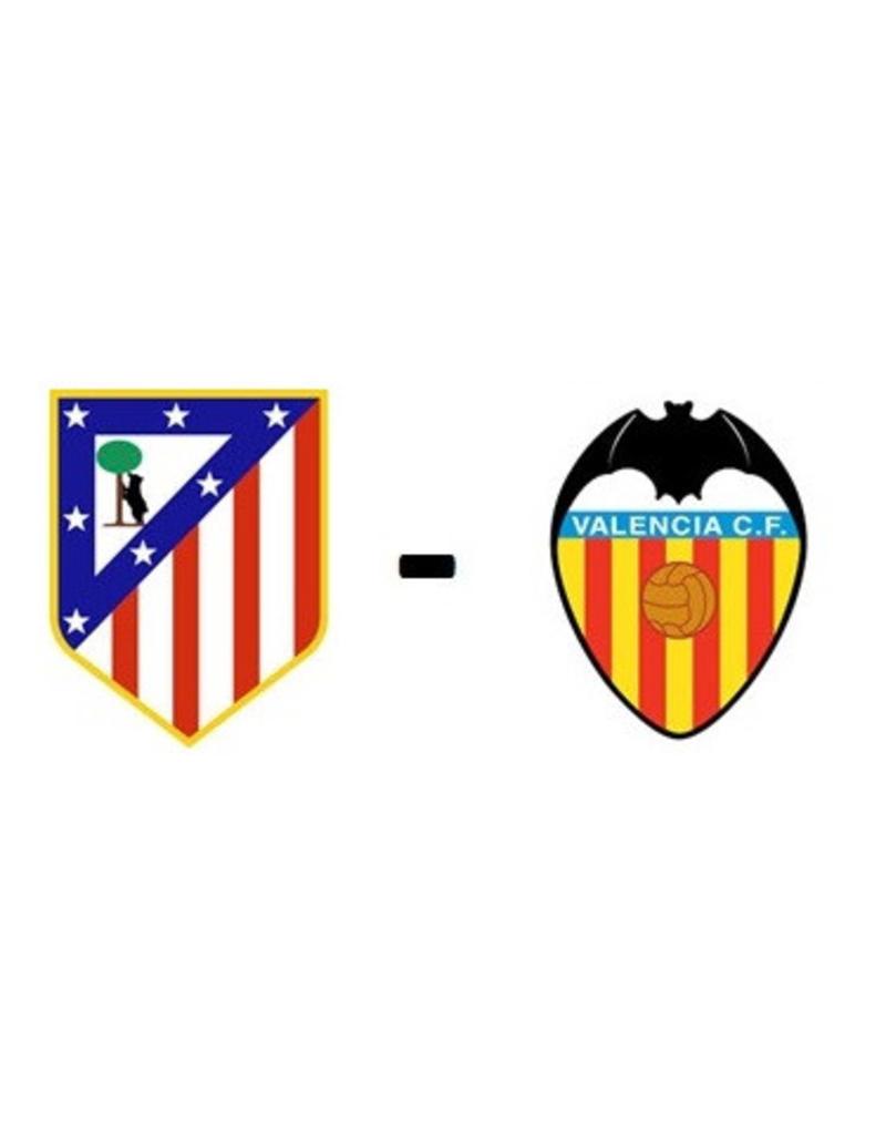 Atletico Madrid - Valencia 23 januari 2022