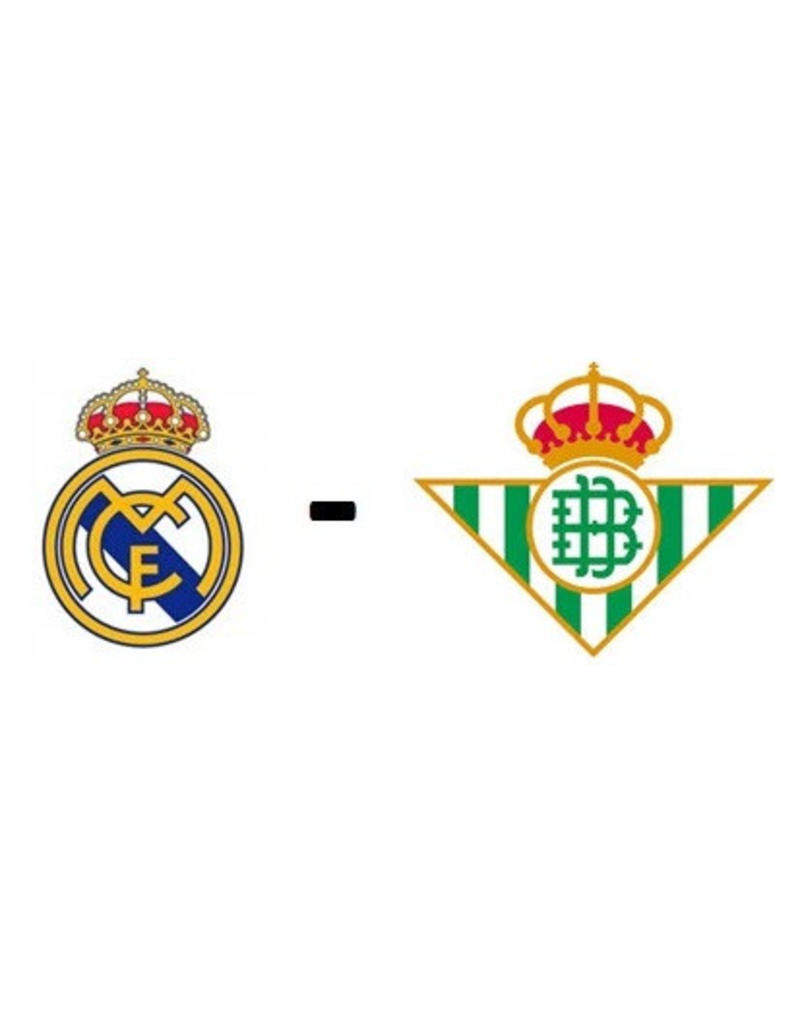 Real Madrid - Real Betis 22 mei 2022