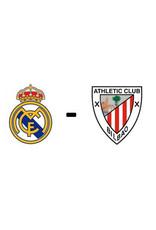 Real Madrid - Athletic Club 17 oktober 2021