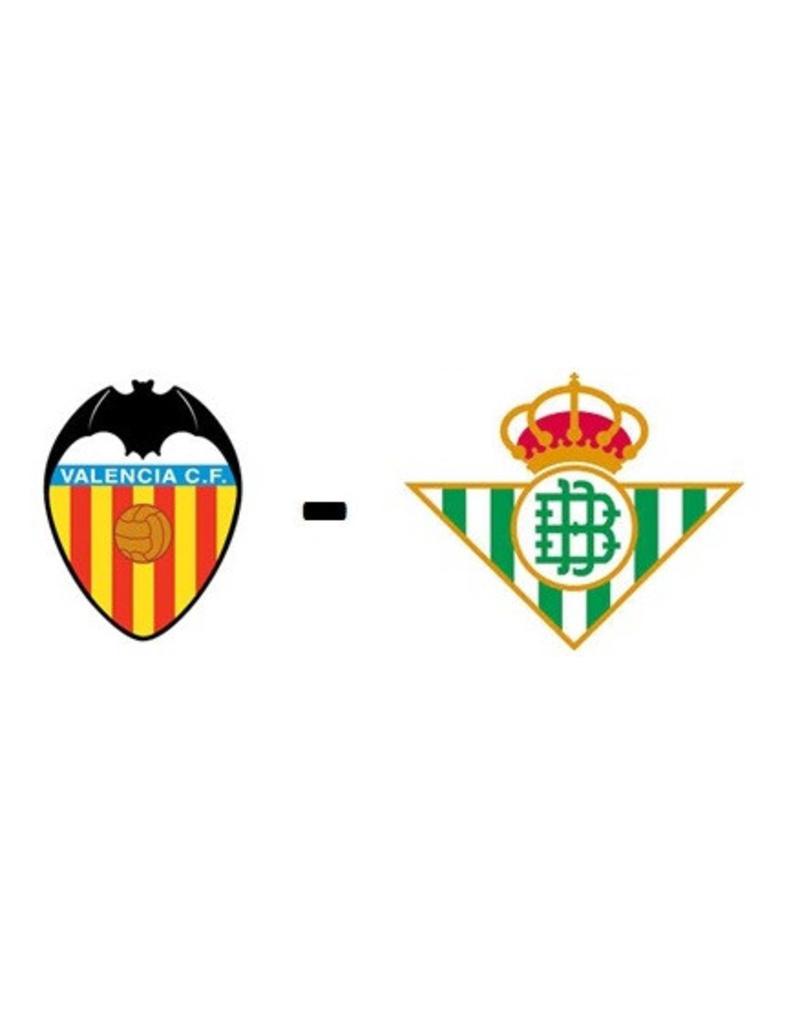 Valencia - Real Betis 1 maart 2020