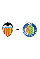 Valencia - Getafe 13 augustus 2021