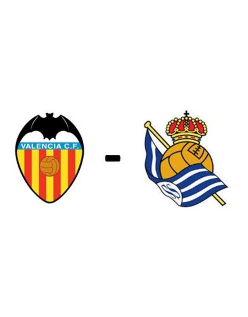 Valencia - Real Sociedad 6 februari 2022