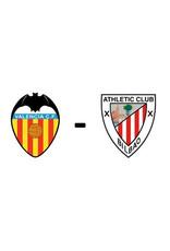 Valencia - Athletic Club 26 april 2020