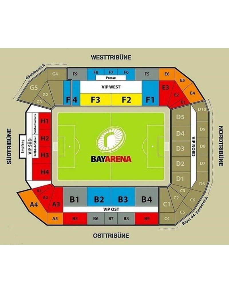 Bayer Leverkusen - Hertha BSC 2 april 2022