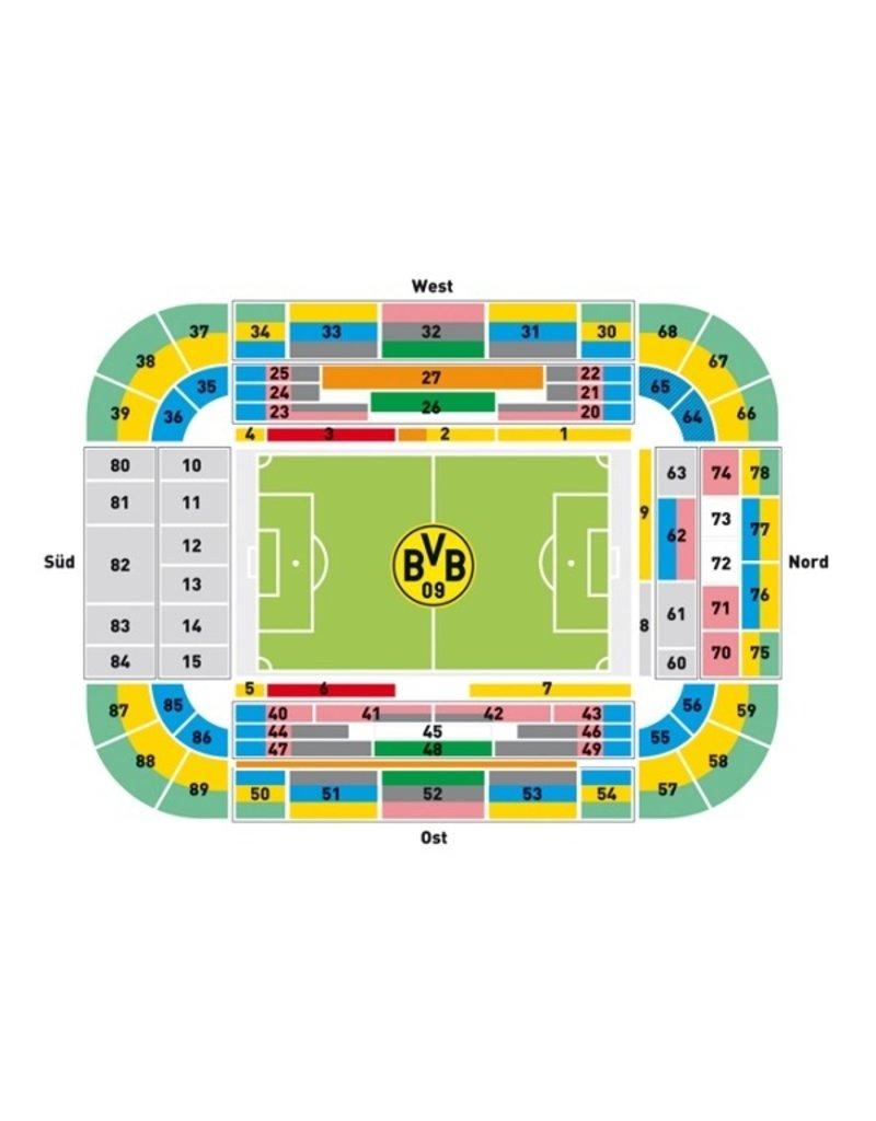 Borussia Dortmund - SC Freiburg 15. Januar 2022