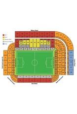 Newcastle United - Everton 9 februari 2022