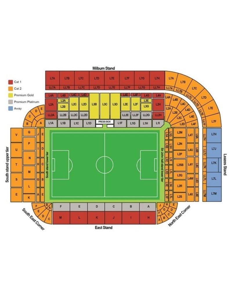 Newcastle United - West Ham United 15 augustus 2021