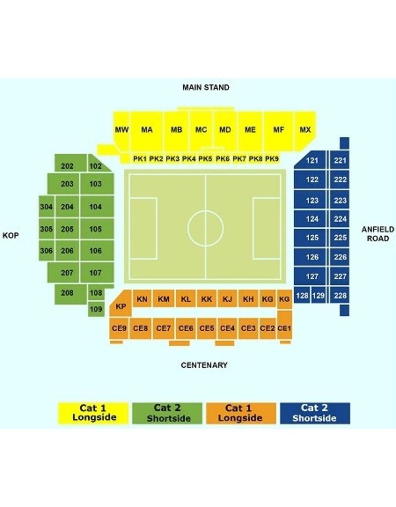 Liverpool - Brighton & Hove Albion 30 oktober 2021