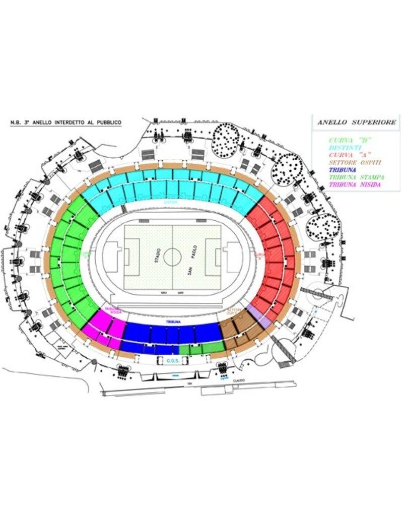 Napoli - Salernitana 23 januari 2022