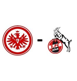 Eintracht Frankfurt - 1. FC Cologne