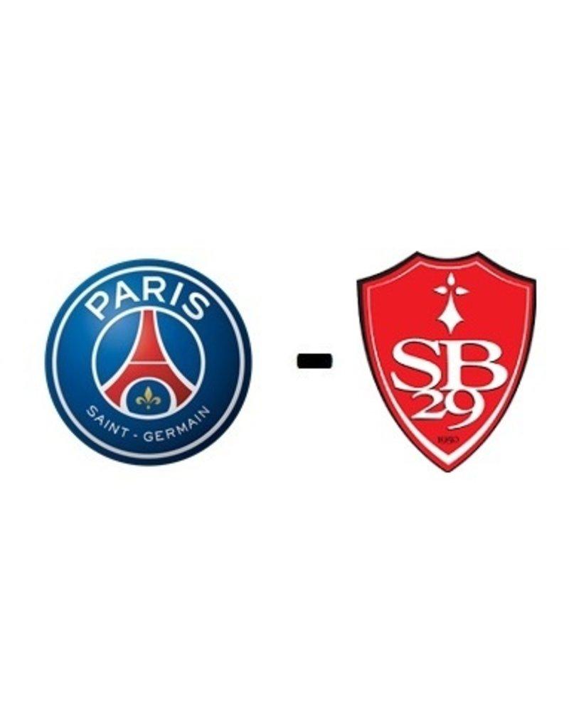 PSG - Stade Brest 16 januari 2022