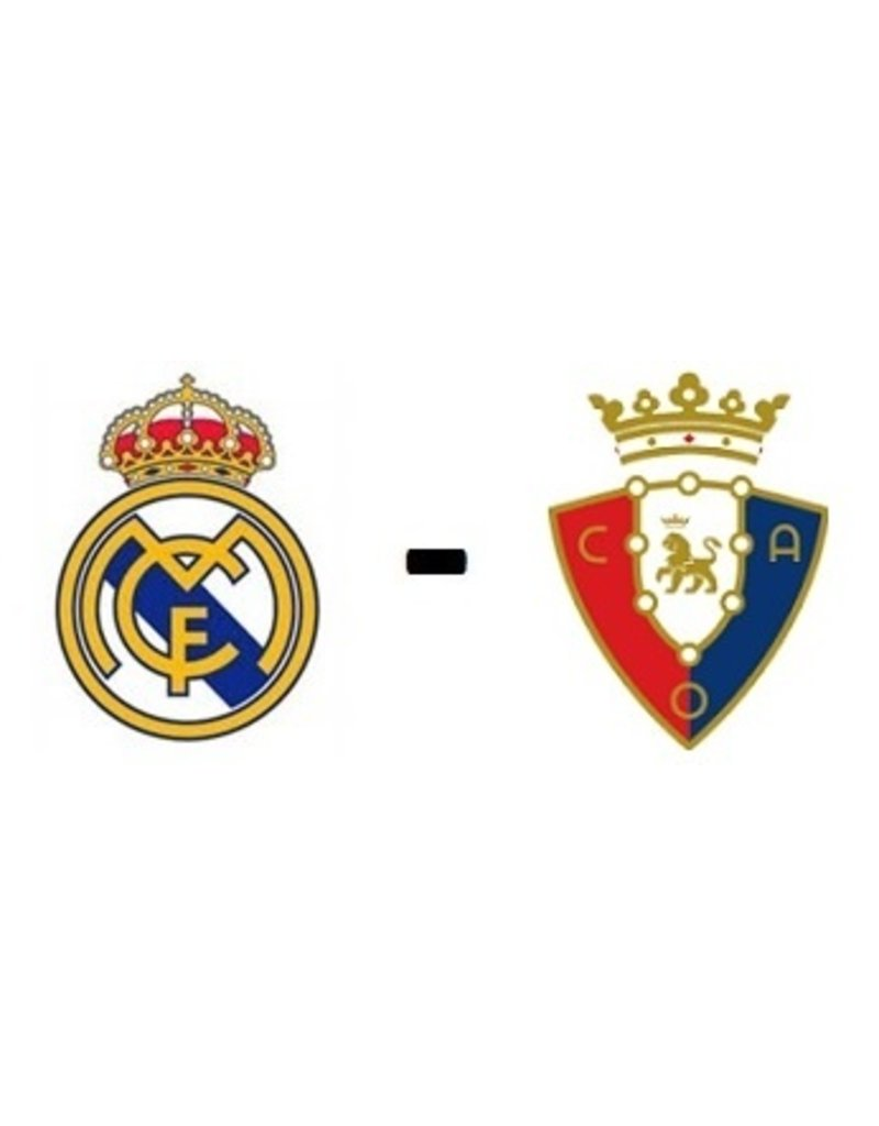 Real Madrid - Osasuna 27 oktober 2021