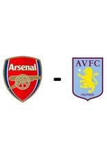 Arsenal - Aston Villa 22 oktober 2021