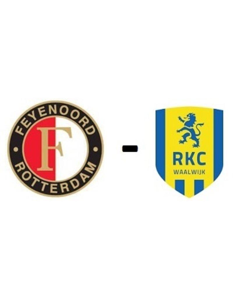Feyenoord - RKC Waalwijk 16 oktober 2021