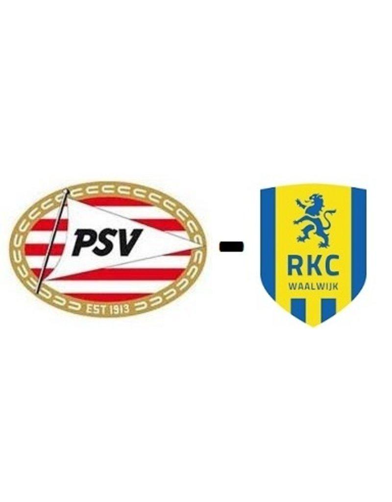 PSV - RKC Waalwijk 10 mei 2020