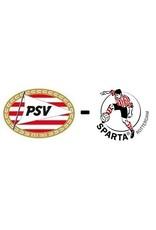 PSV - Sparta Rotterdam 12 april 2020
