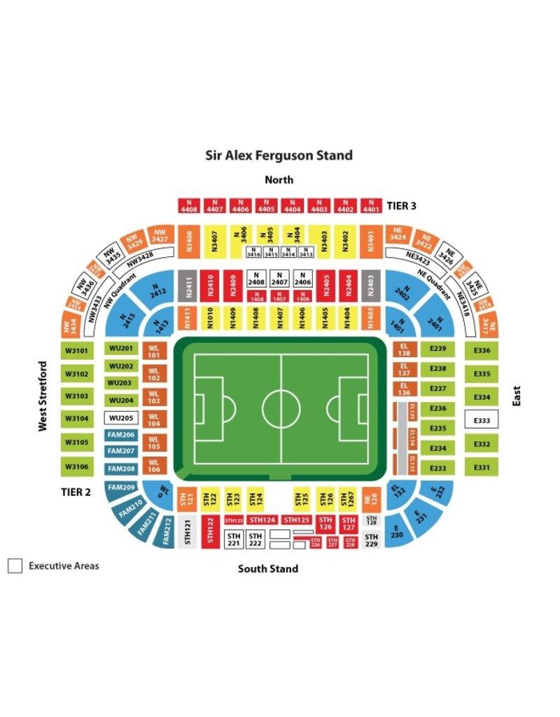 Manchester United - Leeds United 14 augustus 2021