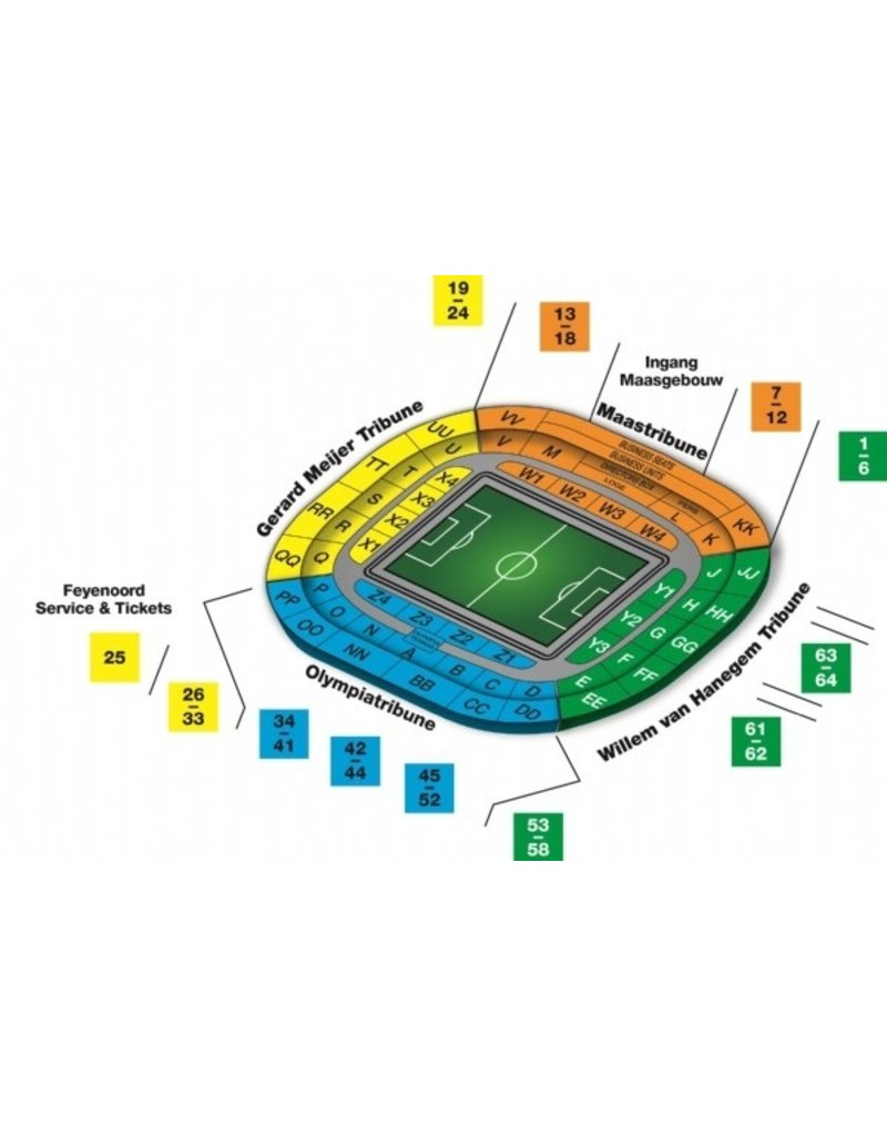 Feyenoord - Sparta Rotterdam 6 februari 2022