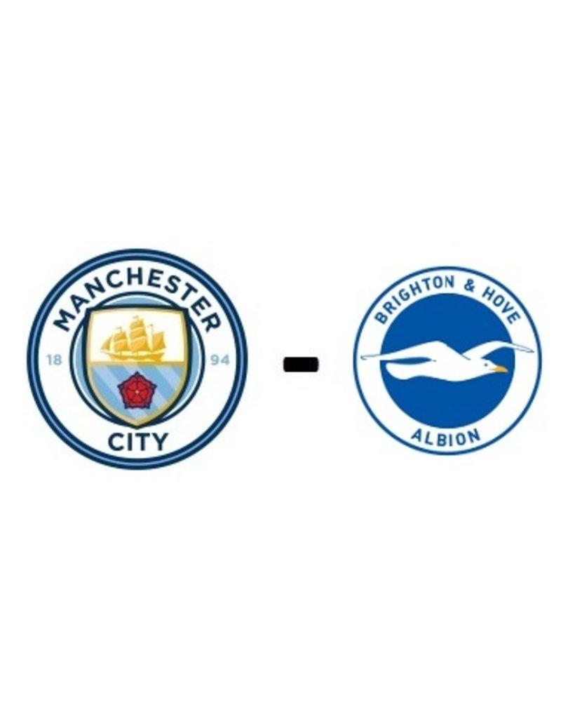Manchester City - Brighton & Hove Albion Arrangement 19 maart 2022